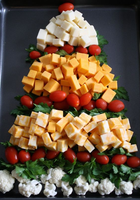 Cheese Christmas Platter