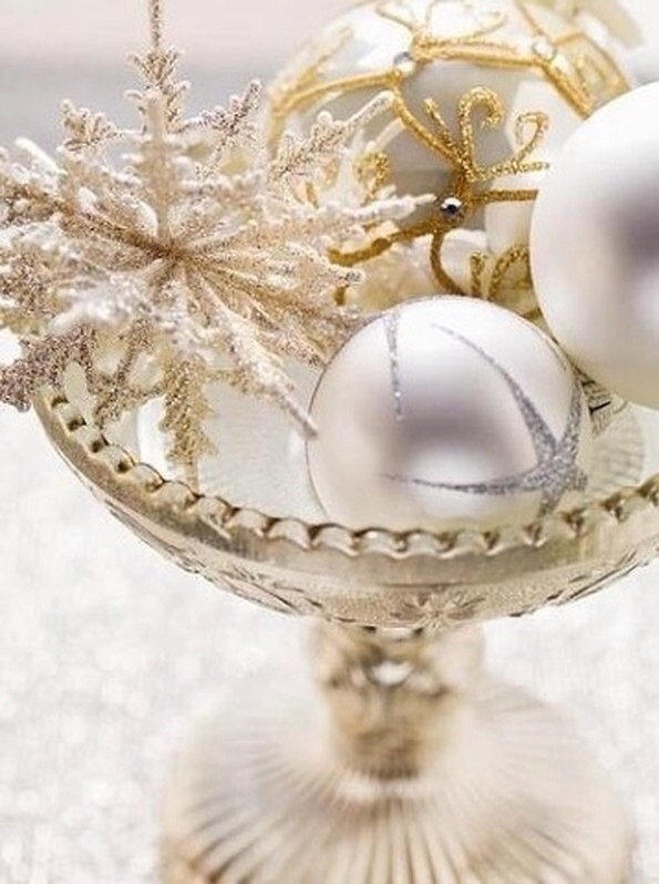 Christmas Balls Gold And Silver