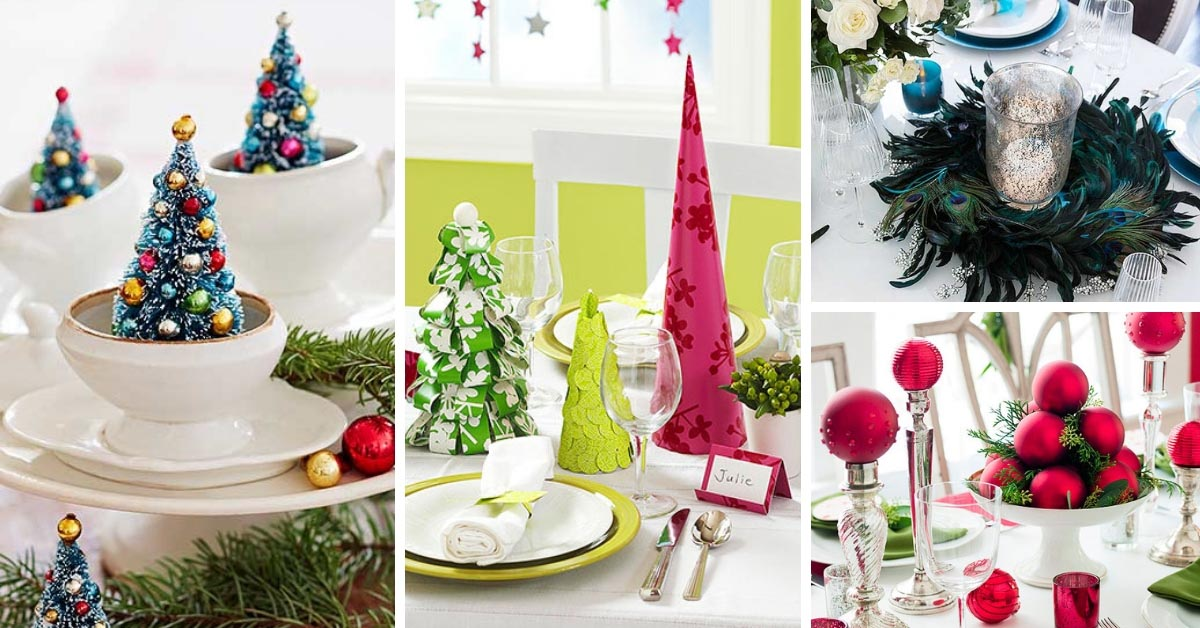 12 easy to make christmas centerpieces to impress your family