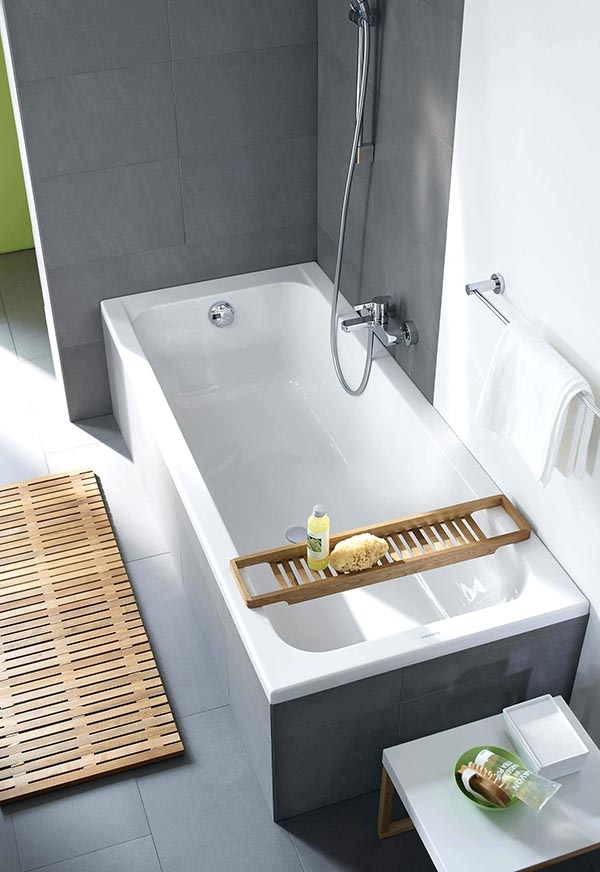 Corner Drop-In Tub #dropintub #bathtub #tub #ideas #decorhomeideas