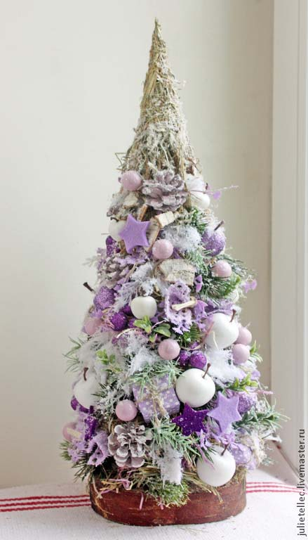 Decorative Purple Christmas Tree #Christmasdecor #purple #Christmas #decorhomeideas