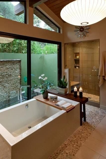 Drop-In Bathtub With Tray #dropintub #bathtub #tub #ideas #decorhomeideas