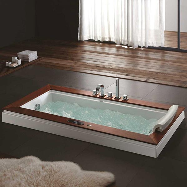 Drop-In Tub #dropintub #bathtub #tub #ideas #decorhomeideas