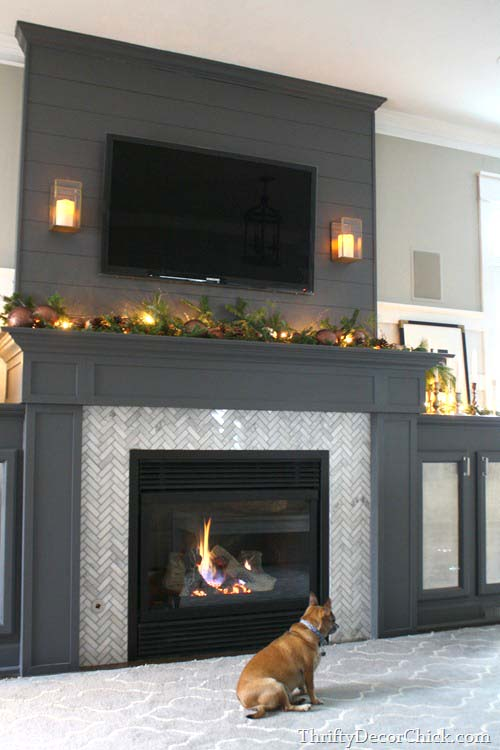 Fireplace tile ideas design #fireplace #fireplacedesign #tile #fireplacetile #decorhomeideas