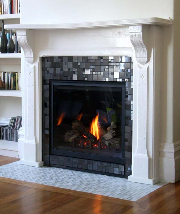 26 Best Fireplace Tile Ideas For 2019