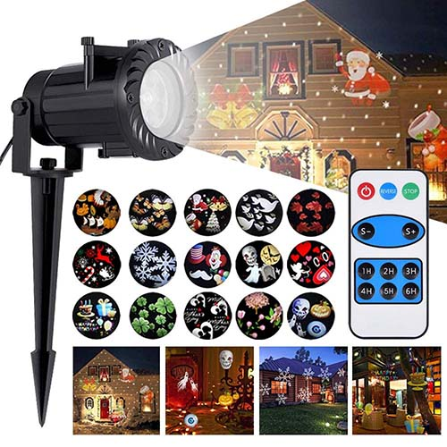 LED Projector Light Christmas