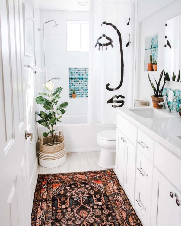 Narrow Bathroom On A Budget #bathroom #narrow #narrowbathroom #decorhomeideas