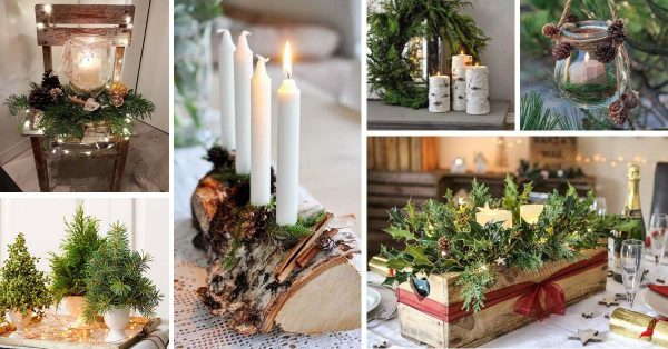 18 Lovely Nature Inspired Christmas Decorations Decor Home Ideas