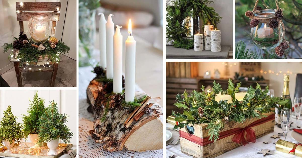 Nature Inspired Christmas Decorations