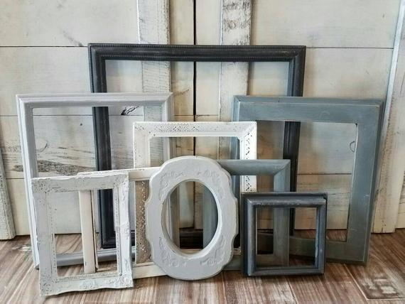 Rustic Picture Frames #rusticbedroom #rustic #bedroom #farmhouse #decorhomeideas