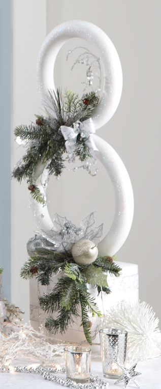 Snowman Christmas Decor #Christmasdecor #Christmas #white #whitechristmas #decorhomeideas