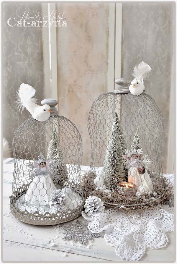 Vintage Christmas Angels #Christmasdecor #Christmas #white #whitechristmas #decorhomeideas
