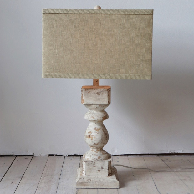 Wood Column Rustic Table Lamp #rusticbedroom #rustic #bedroom #farmhouse #decorhomeideas