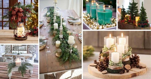 18 Amazing Christmas Centerpieces For The Cutest Christmas