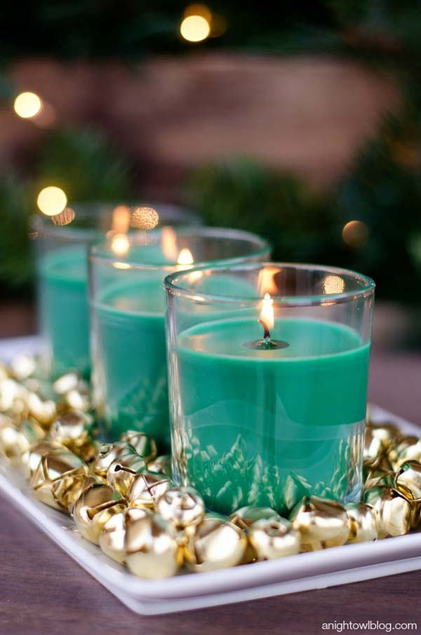 Easy Christmas Centerpiece #Christmas #centerpiece #Christmasdecor #decorhomeideas
