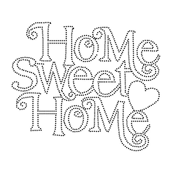 Home Sweet Home String Art Template