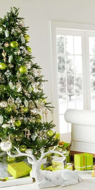 Light Green Christmas Tree