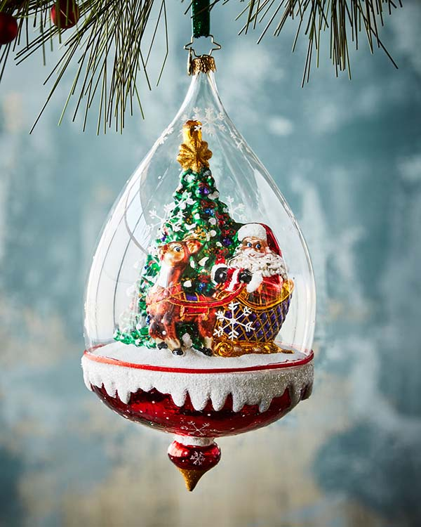Santa Claus Christmas Tree Ornament #Christmas #ornaments #Christmasdecor #decorhomeideas