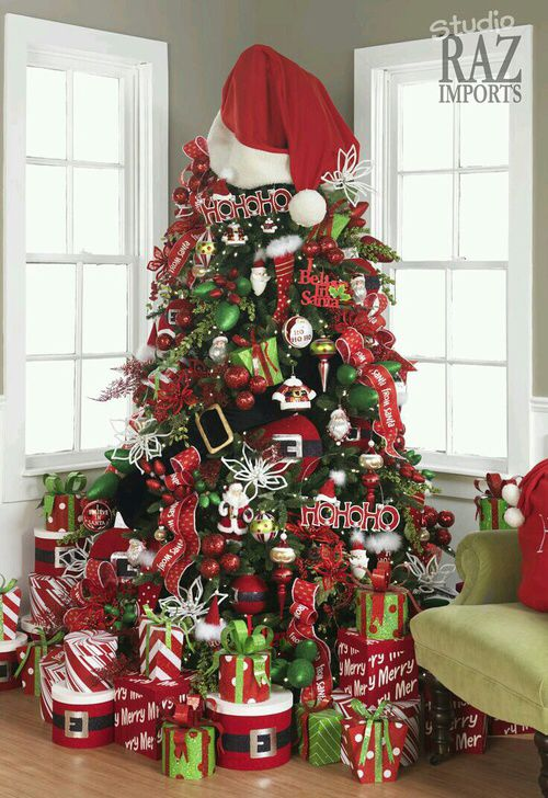 Santa Claus Christmas Tree