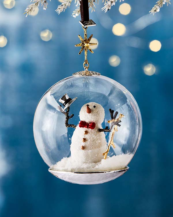 Snowman Christmas Ornament #Christmas #ornaments #Christmasdecor #decorhomeideas