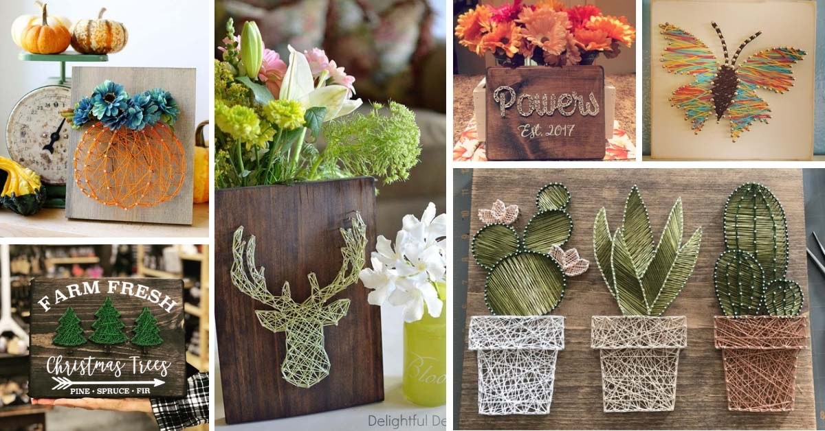 28 Amazing String Art Ideas You Would Love To Diy Decor Home Ideas