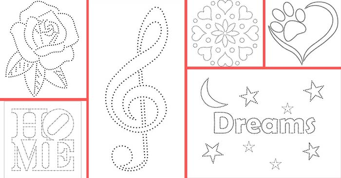 free printable string art patterns with instructions