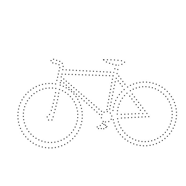 Bicycle String Art Pattern