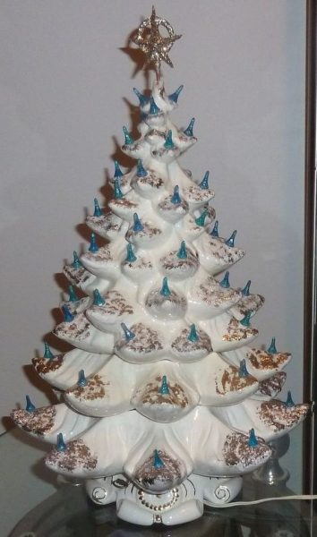 Big Ceramic Christmas Tree