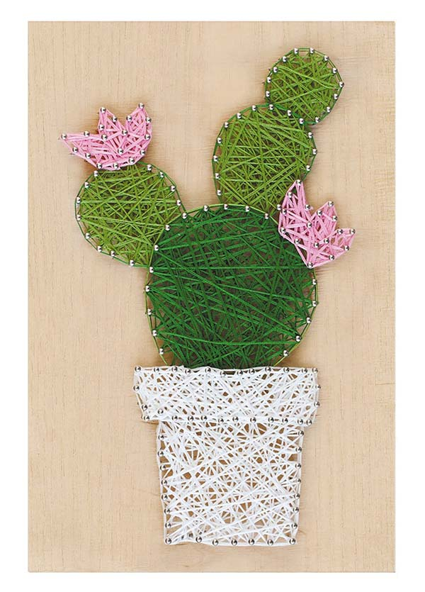 Cactus String Art Kit