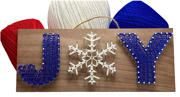 Christmas Joy String Art Kit