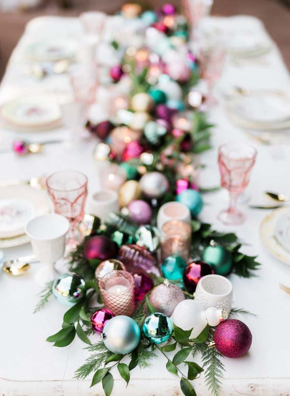 Christmas ornaments Table Decoration