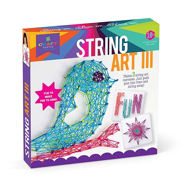 Craft-tastic String Art Kit Bird Edition