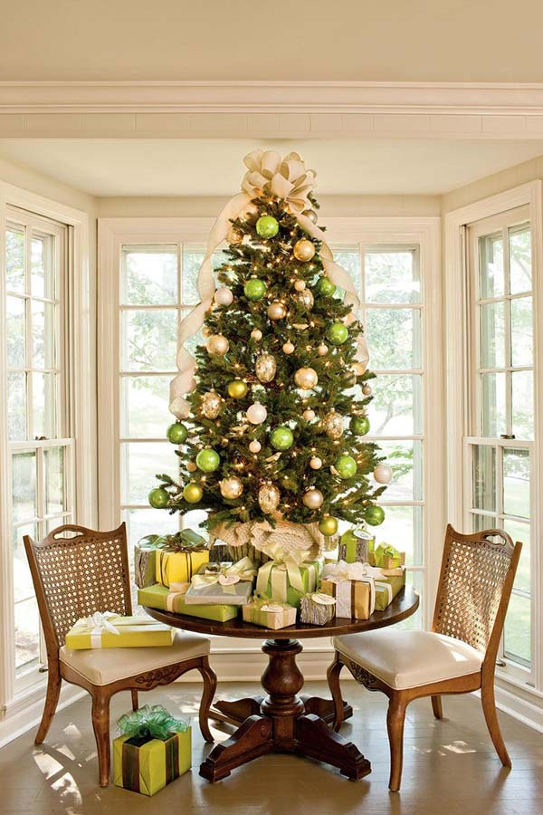 Light Green Tabletop Christmas Tree
