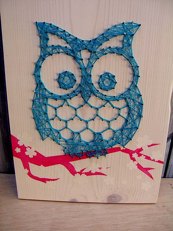 Owl String Art Kit
