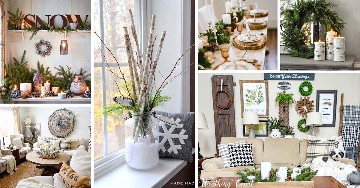 Rustic Winter Decor Ideas