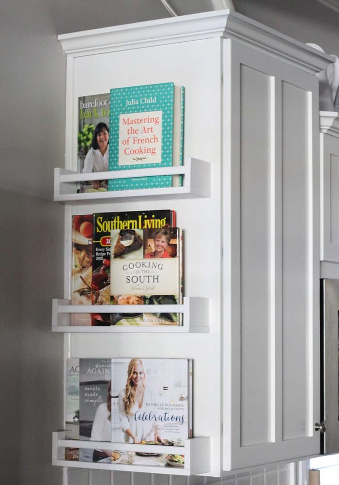 Cooking Books Storage Ideas