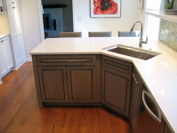 Corner Sink #cornersink #kitchen #sink #decorhomeideas