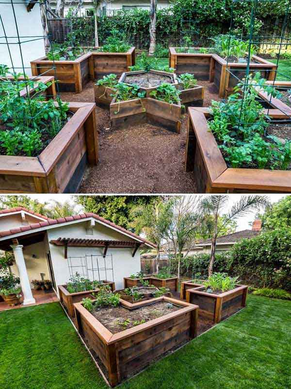 DIY Raised Vegetable Garden