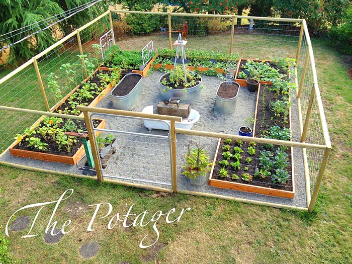DIY Tutorial Vegetable Garden