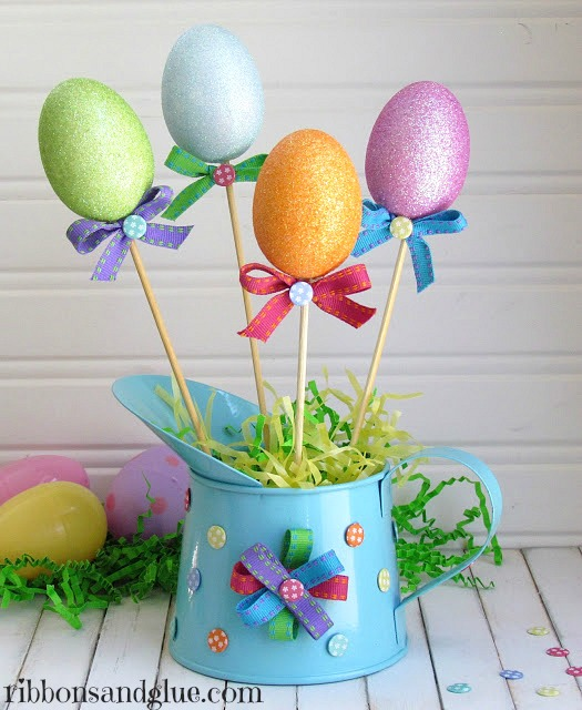 Easter Eggs Spring Centerpiece