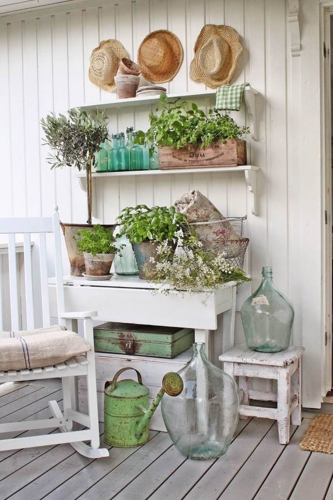 Farmhouse Porch Decor #farmhouse #rustic #porch #decor #decorhomeideas