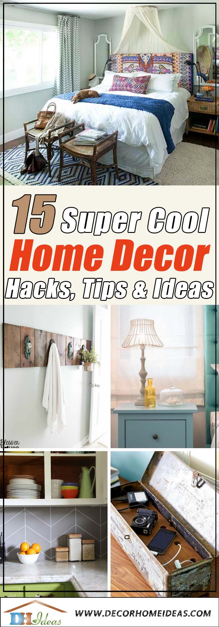 Home Decor Hacks #homedecor #hacks #tips #ideas #decorhomeideas