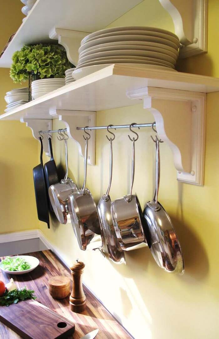 Kitchen Pans And Pots Storage