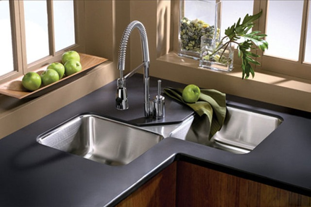 Modern Kitchen Sink #cornersink #kitchen #sink #decorhomeideas