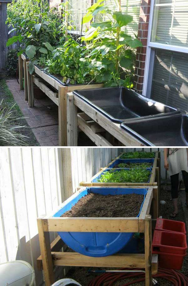 Raised Container Vegetable Garden