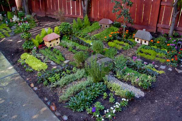 Small Vegetable Garden