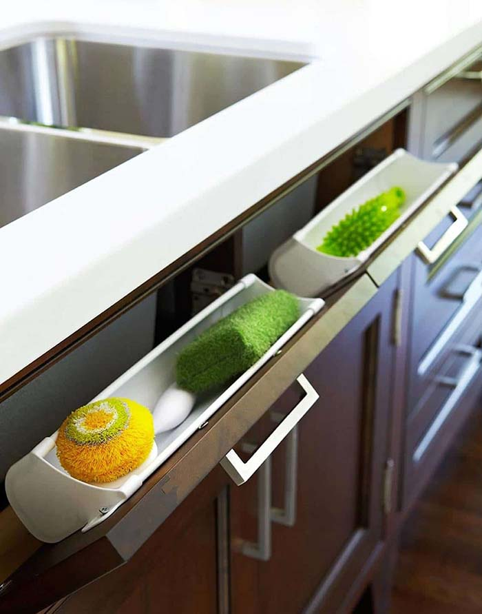Under Sink Storage Idea