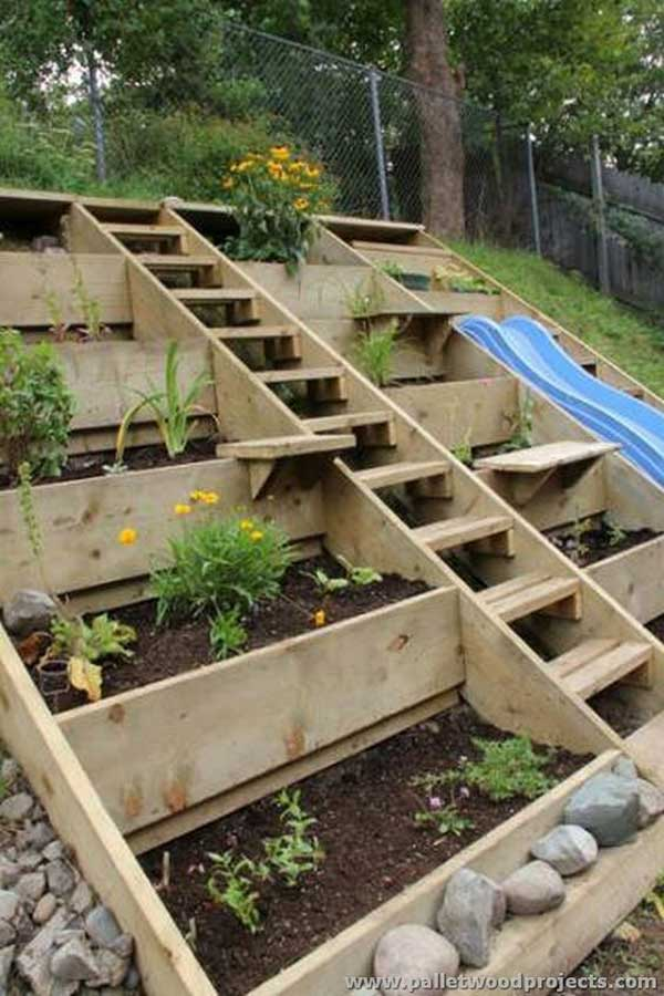 Veggie Garden Wood Pallets