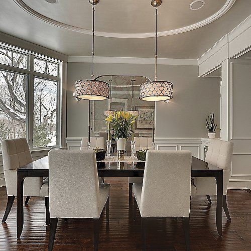 Ambient Light Dining Room