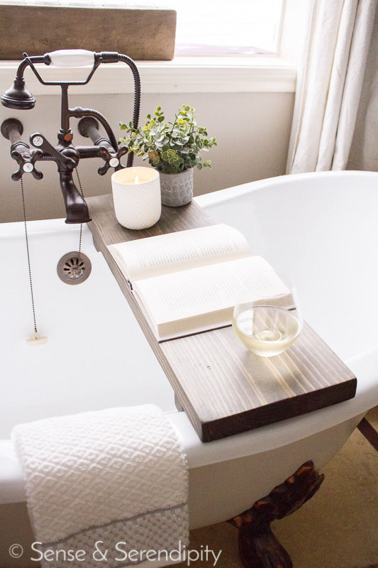 Bathtub Wooden Tray